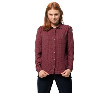 Jack Wolfskin Bluse Alin Shirt XL rot