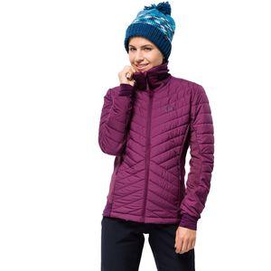 Jack Wolfskin Hybridjacke Frauen Lyse Valley Jacket Women XL violett