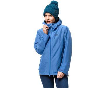 Jack Wolfskin Winter-Hardshell Frauen Chilly Morning Jacket Women M blau