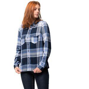 Jack Wolfskin Bluse Stalheim Shirt S blau