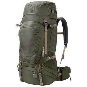 Jack Wolfskin Wanderrucksack Highland Trail Extended Version 50 one size grün