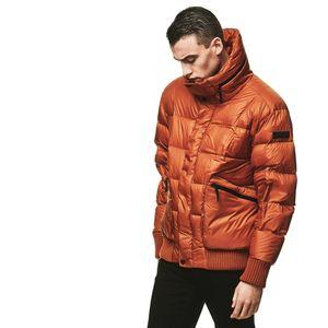 Jack Wolfskin Daunenjacke Männer Bowery Jacket Men L orange