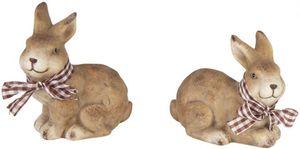 Dekohase - aus Terrakotta - 11,5 x 7,5 x 14 cm - 1 Stück