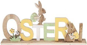 Deko-Schriftzug - Ostern - aus Holz - 32 x 4 x 16 cm