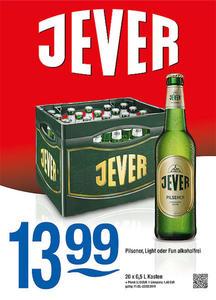 Jever Pilsener, LIght oder Fun alkoholfrei