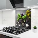 Bild 2 von Küchenrückwand aus Glas - KNOBLAUCH - 60x65 cm
