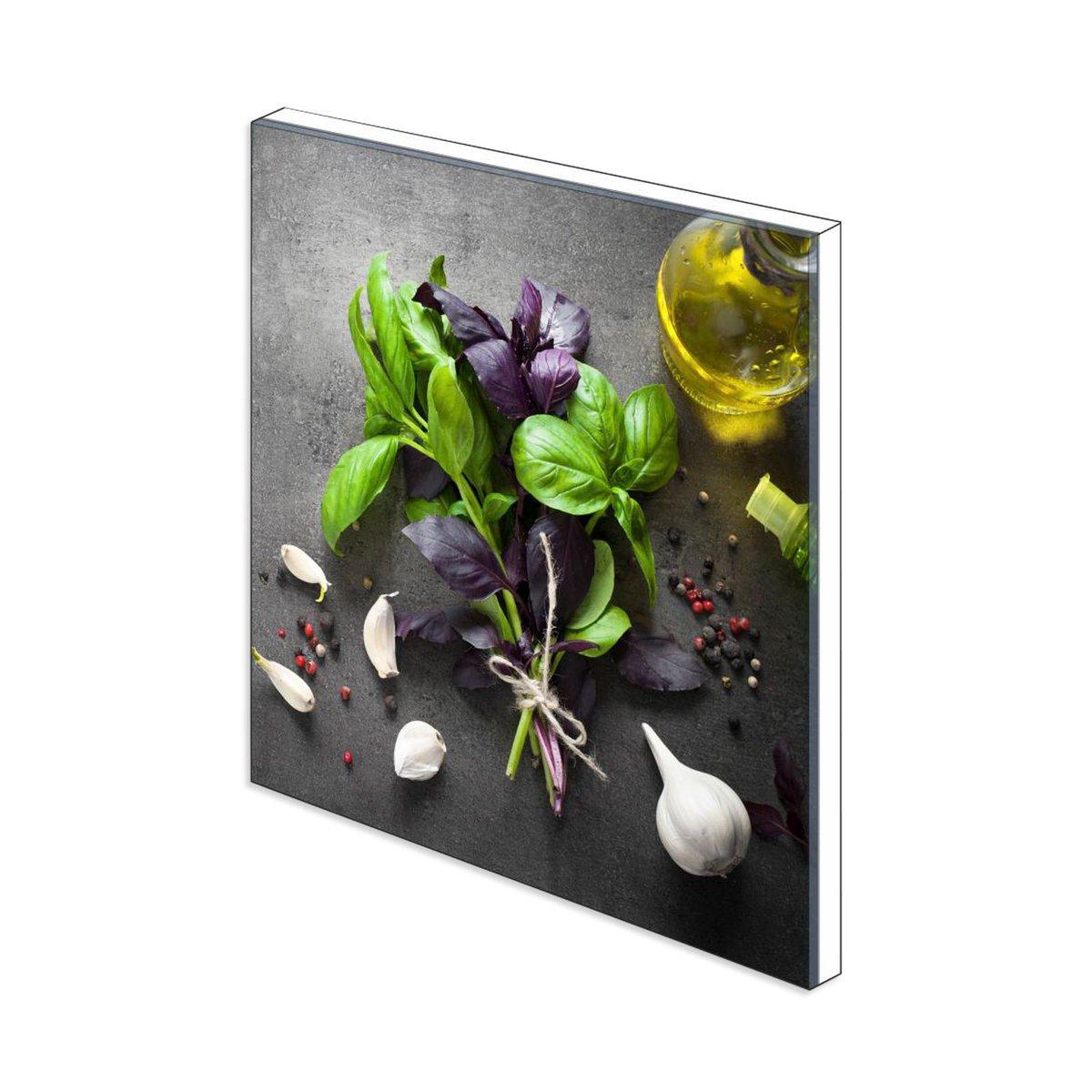 Bild 3 von Küchenrückwand aus Glas - KNOBLAUCH - 60x65 cm