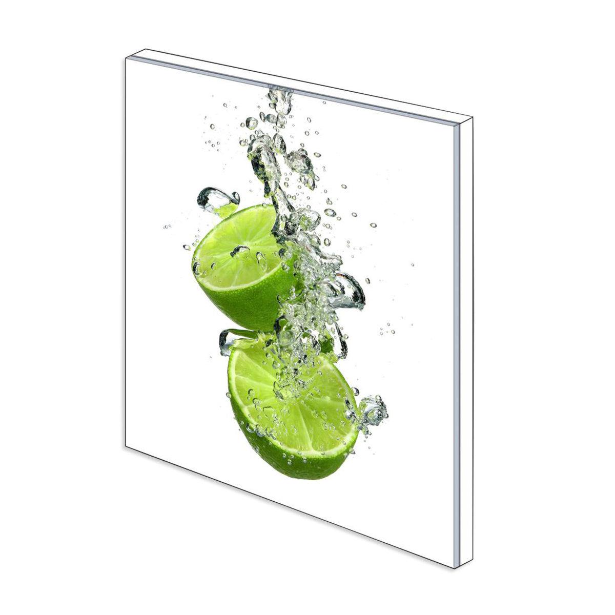 Bild 3 von Küchenrückwand aus Glas - LIMETTE - 60x65 cm