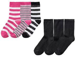 PEPPERTS® 3 Paar Kinder Mädchen Socken