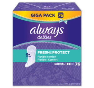 ALWAYS Fresh & Protect