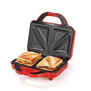 GOURMETmaxx Sandwich Maker 750W rot