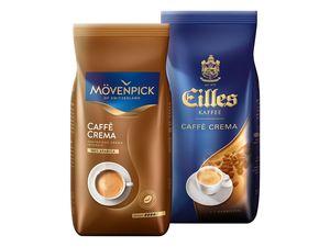 Mövenpick Caffè Crema/Eilles Kaffee Ganze Bohnen