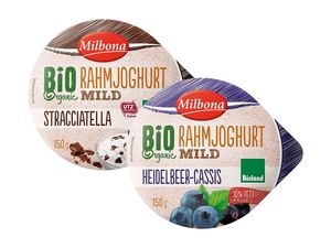 Bioland-Rahmjoghurt, mild