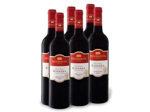 6 x 0,75-l-Flasche Weinpaket Mészáros Pál Kadarka trocken, Rotwein