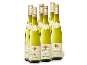 6 x 0,75-l-Flasche Weinpaket Ernest Wein Edelzwicker Alsace AOC trocken, Weißwein