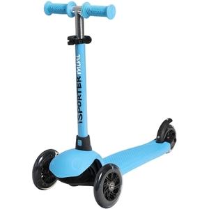 I-Sporter - Mini LED-Scooter, blau