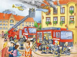 Ravensburger Puzzle Unsere Feuerwehr