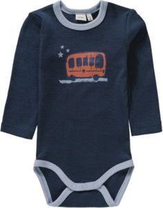 Body NBMWILLOW aus Wolle Gr. 68 Jungen Baby