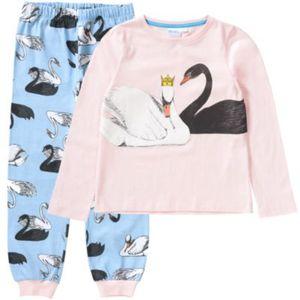 Schlafanzug von TVMANIA Gr. 116/122 Mädchen Kinder