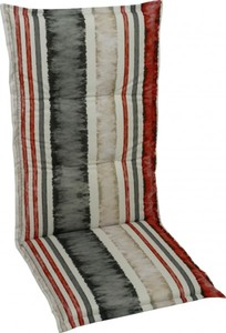 GO-DE Sessel-Auflage ,  110x50x6cm,Stehsaum,Kreissteppung