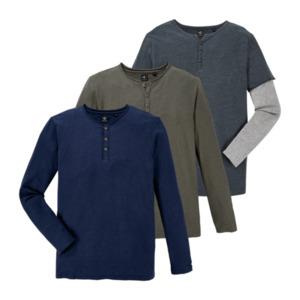 STRAIGHT UP     Henley-Shirt