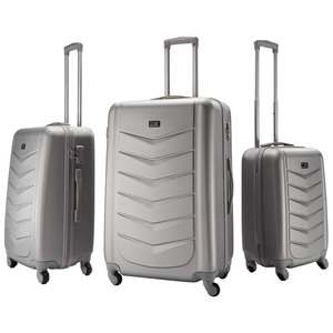 Kofferset Miami (3-teilig, silber)