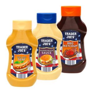 TRADER JOE'S     Sauce / Senf / Ketchup