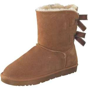 Leone Winter Boots Damen braun