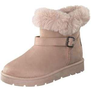Inspired Shoes Winter Boots Damen beige