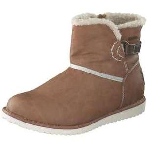 Inspired Shoes Winter Boots Damen braun