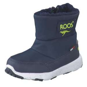 KangaROOS Snowball Lauflern Stiefel Jungen blau