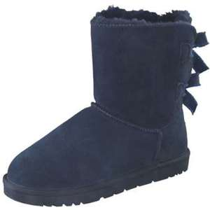 Leone Winter Boots Damen blau