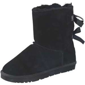 Leone Winter Boots Damen schwarz