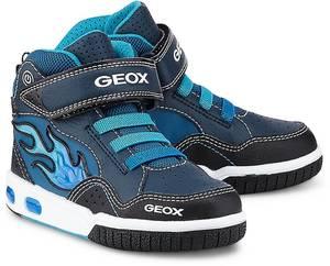 Sneaker J Gregg C von Geox in blau für Jungen. Gr. 35