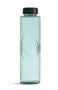 Biologisch abbaubare Flasche in Grün