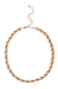 Halskette in verdrehter Optik