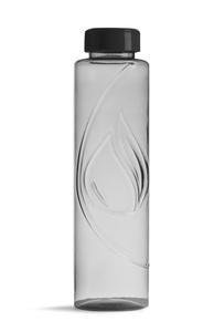 Biologisch abbaubare Flasche in Grau