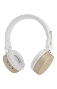Goldene Bluetooth-Kopfhörer