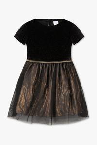 Palomino         Kleid - Glanz Effekt