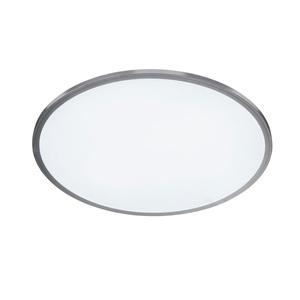 WOFI LED Deckenlampe 60 cm LINOX Silberfarbig