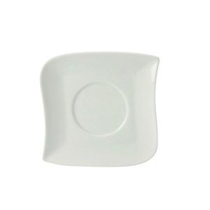 CreaTable Untertasse 15 cm SYDNEY Weiß