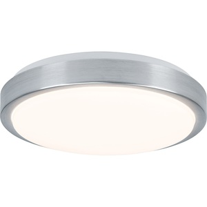 Brilliant LED Deckenlampe 30 cm LIVIUS Nickelfarbig