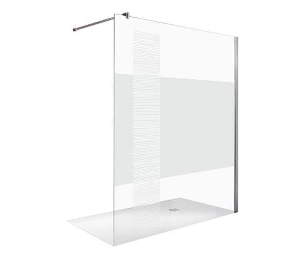 Breuer®-Dusche »Entra« Duschwand InStripe