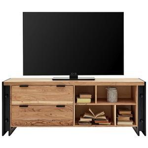 TV-Element Schwarz/Natur