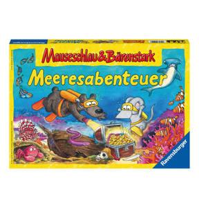 Ravensburger             Spiel Mauseschlau & Bärenstark Meeresabenteuer