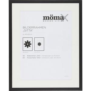 BILDERRAHMEN Gitta, ca. 40x50cm in Schwarz