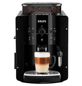 "Krups             Kaffeevollautomat ""EA810XS"", Bohnenbehälter 275 g, Wassertank 1,8 l, inkl. Auto-Cappuccino-Set"