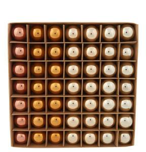 GALERIA home             Weihnachtskugel-Set, 49-tlg., gold, 3 cm