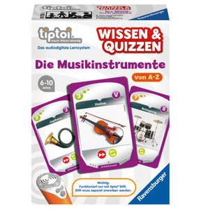 Ravensburger                tiptoi®                 Wissen & Quizzen Die Musikinstrumente