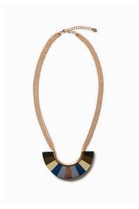 Wood Blue  Halskette